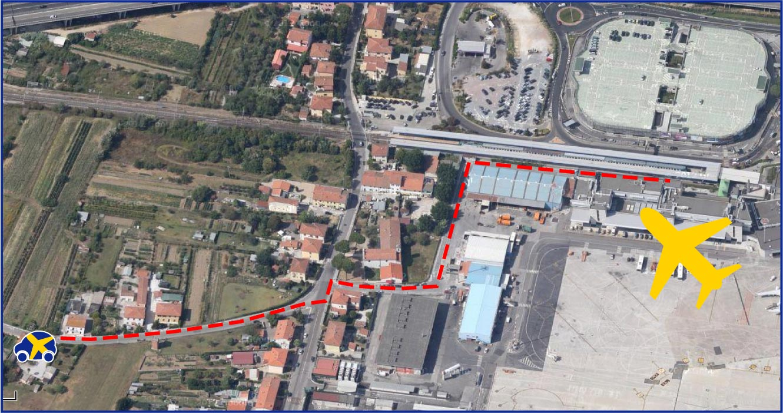 Aeroporto Pisa : Parcheggio pisa park vicino all aeroporto galileo galilei